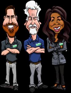 smith team caricature